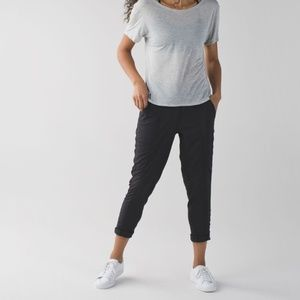 Lululemon Street To Studio Pant *Unlined in black